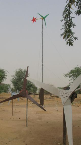 Mali turbines